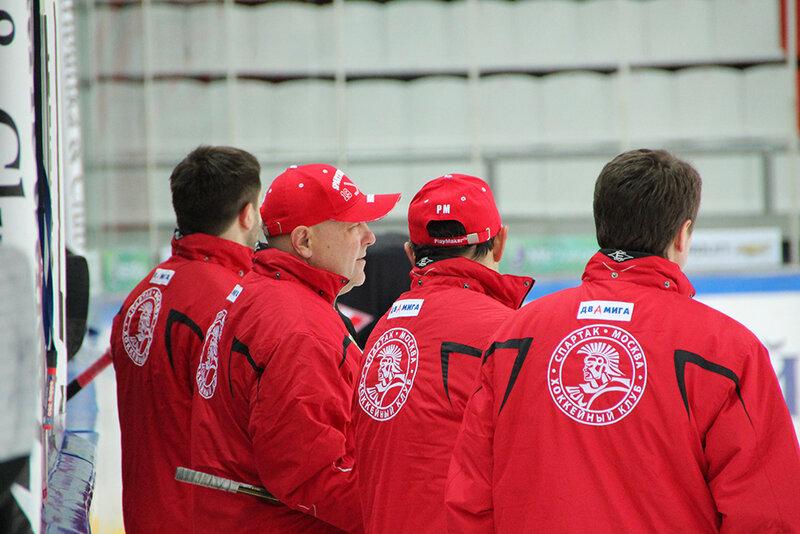 Первая тренировка «Спартака» под руководством Канарейкина (Фото)