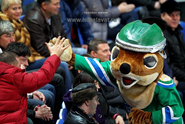 «Салават Юлаев» vs «Спартак» 4:1 чемпионат КХЛ 2012-2013 (Фото)