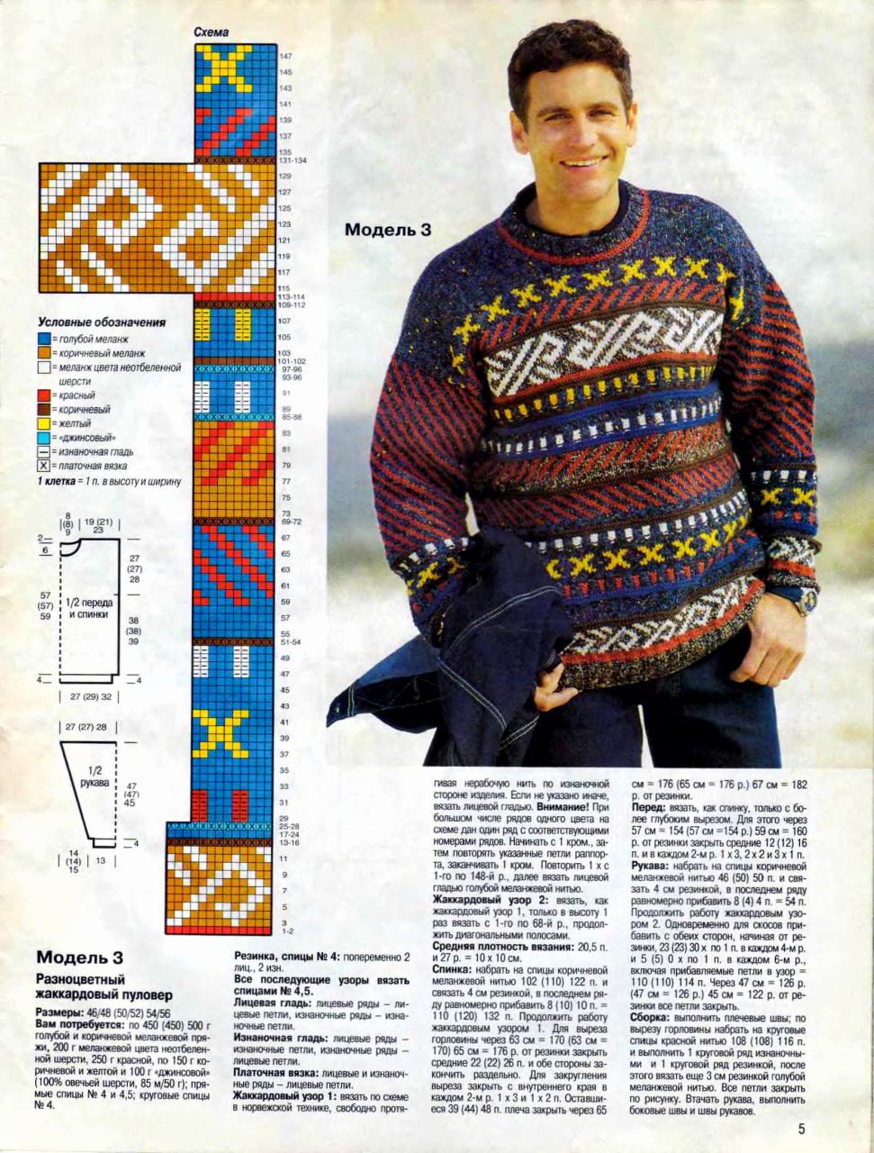 Журнал по вязанию вязание для мужчин вязание