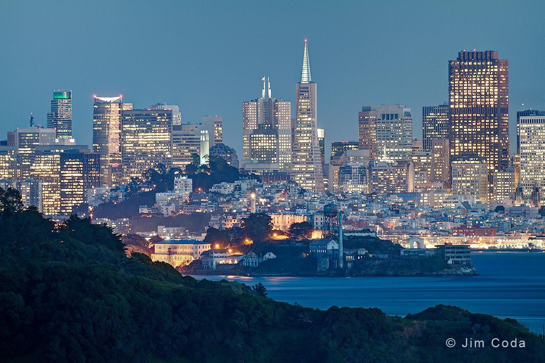 Angel Island, Alcatraz and San Francisco