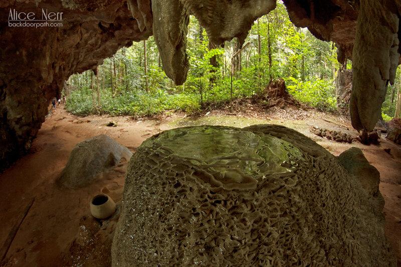 красивая штука. почему я не геолог? пещера в tiger temple, краби, таиланд