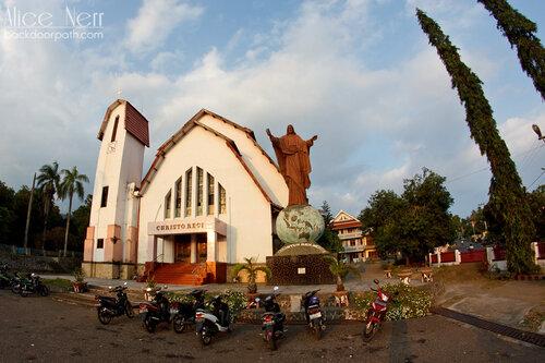 церковь в Энде, остров Флорес, Индонезия