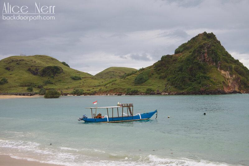 пляж Кута, остров Ломбок