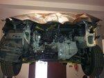 Mitsubishi Lancer X 2010 год двигатель + коробка передач