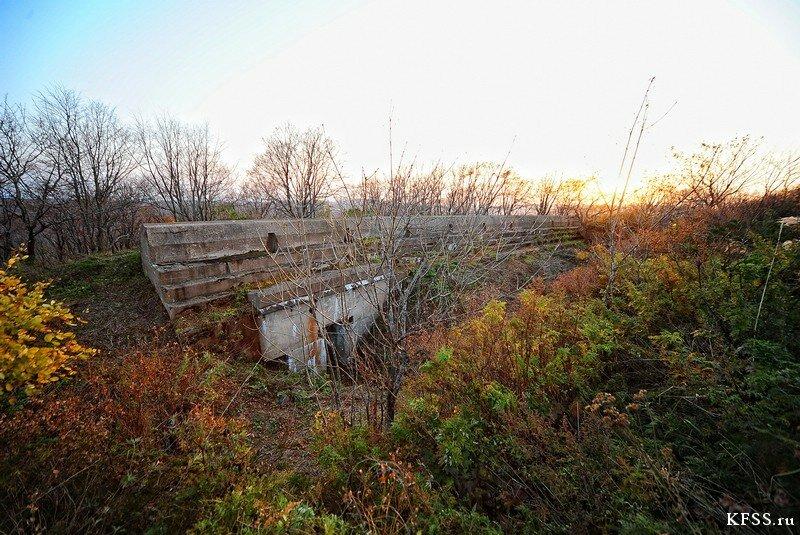 Форт №12 Владивостокской крепости kfss подбрустверка