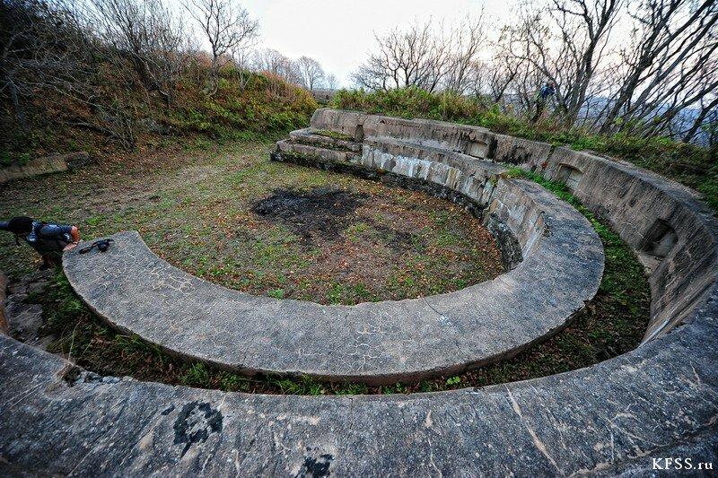 Форт №12 Владивостокской крепости kfss барбет на правом редуте