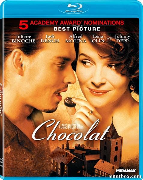 Шоколад / Chocolat (2000/BDRip/HDRip)