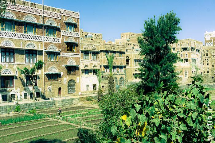 Фотографии Саны, Йемен, архитектура, интерьеры