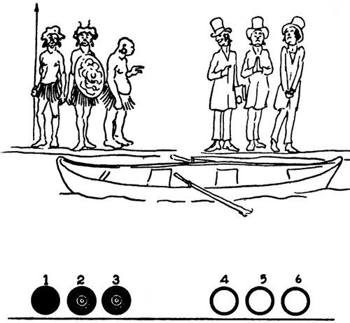 переправь семью на другой берег лодка может выдержать