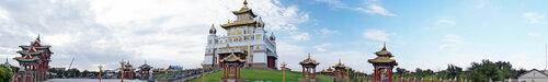 Хурульный комплекс Золотая обитель Будды Шакьямуни