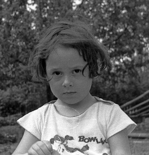 Я в 1974 году. На даче