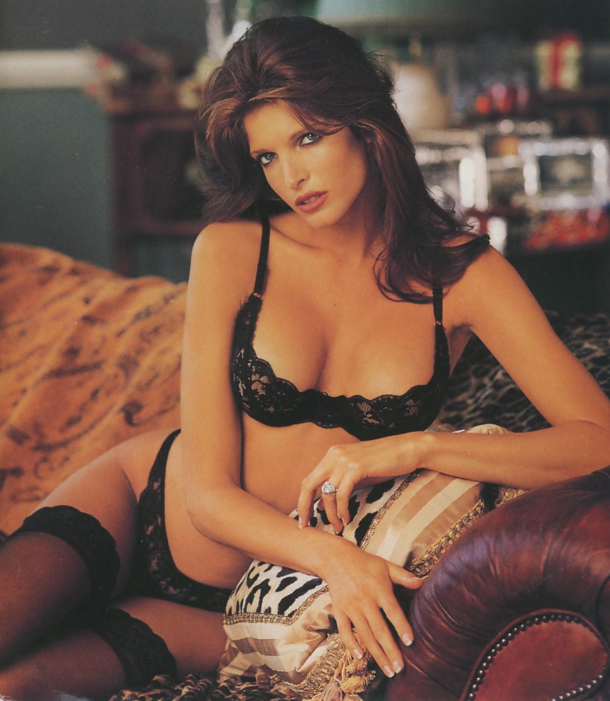 3. Стефани Сеймур, 1968 г.р., Калифорния, США. В 1991 и 1994 году Стефани Сеймур стала моделью журна