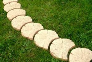 Как сделать деревянные дорожки не да