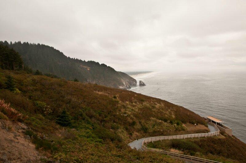 Дорога вдоль океана