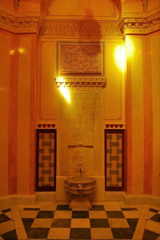 Турецкая баня в Екатерининском парке, фонтан