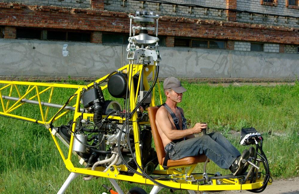 Собираем вертолет своими руками