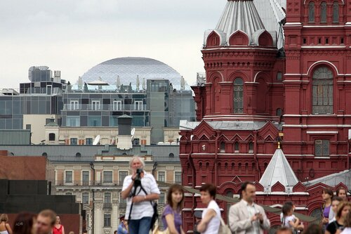 on the Red Square