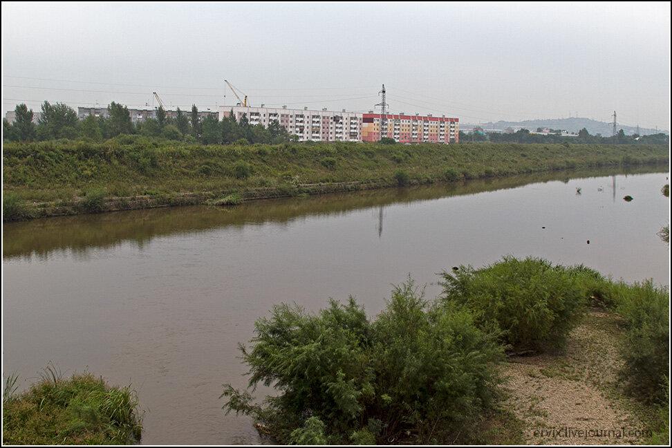 Река в Уссурийске