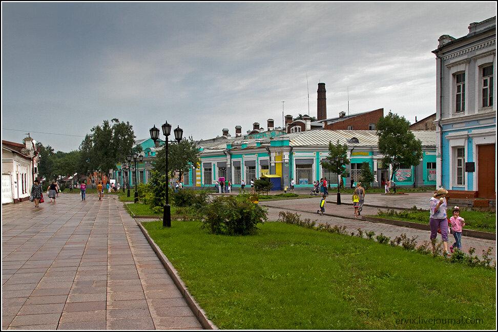 Центр Уссурийска