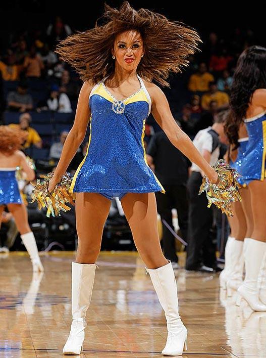 Golden State Warriors - cheerleaders NBA october 2012 / девушки из групп поддержки в баскетболе НБА