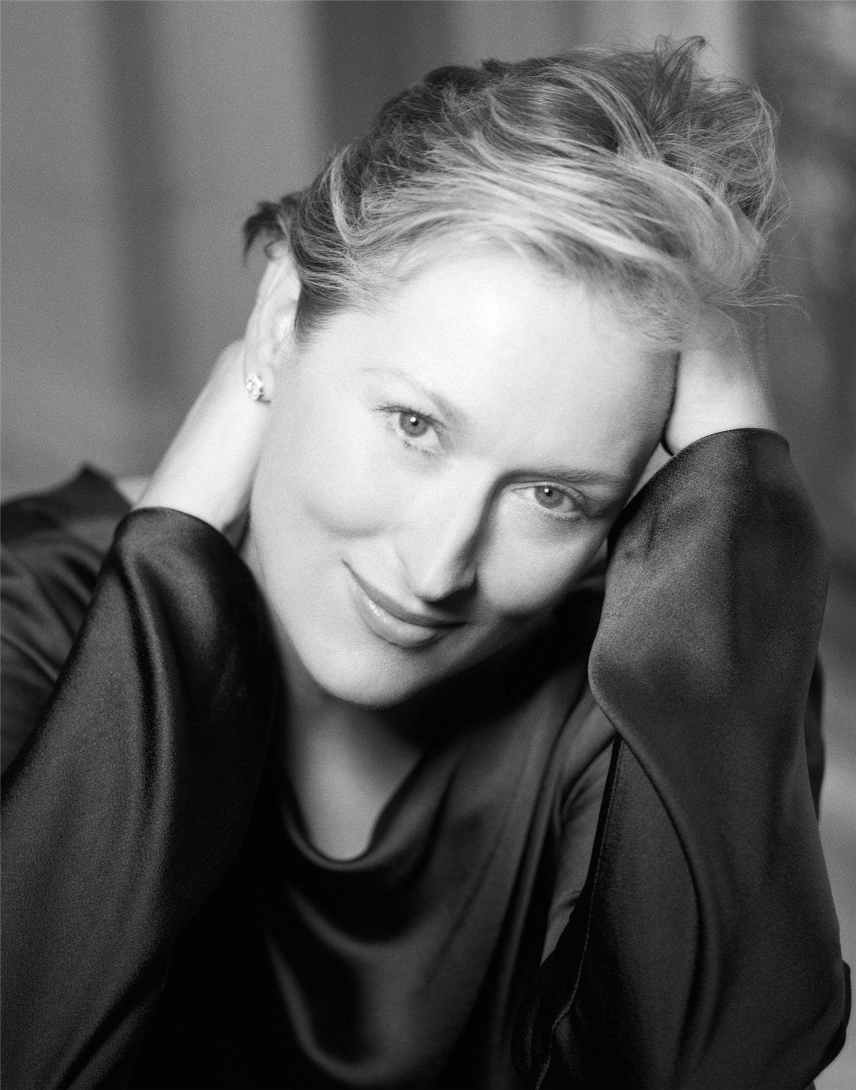 Meryl Streep / Мерил Стрип - звезды Голливуда, фотограф Firooz Zahedi