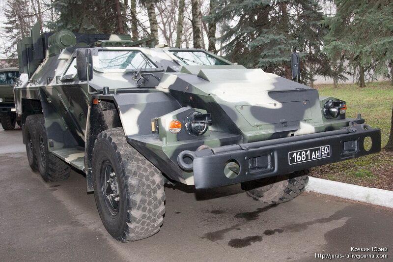 Специальное транспортное средство СБА-60  Листва-БШ. Технический облик военного автомобиля многоцелевого назначения XXI века