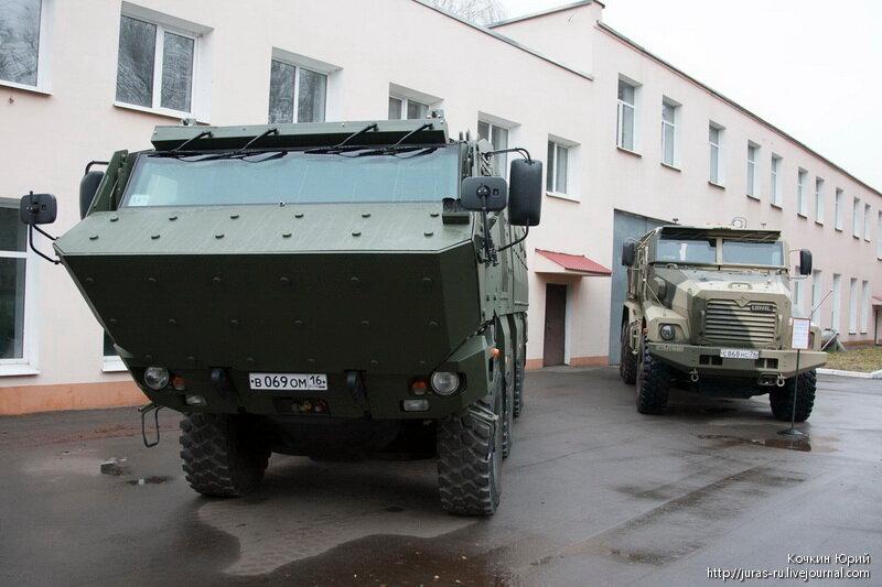 Камаз-63968 ТАЙФУН-К. Технический облик военного автомобиля многоцелевого назначения XXI века