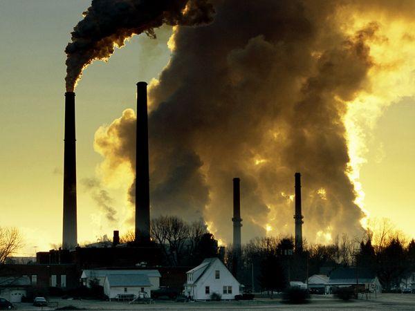 Объёмы эмиссии CO2