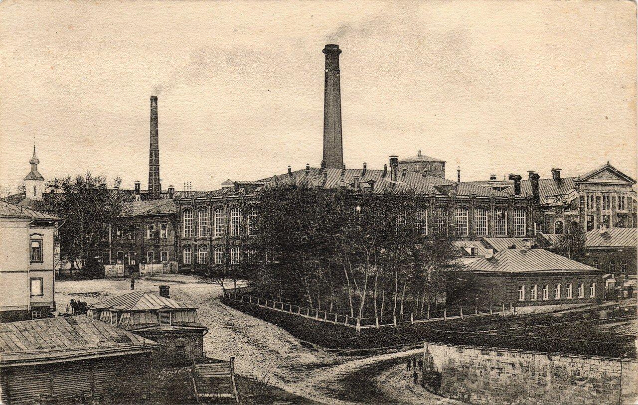 Фабрика Н.Н.Коншина. Старый двор