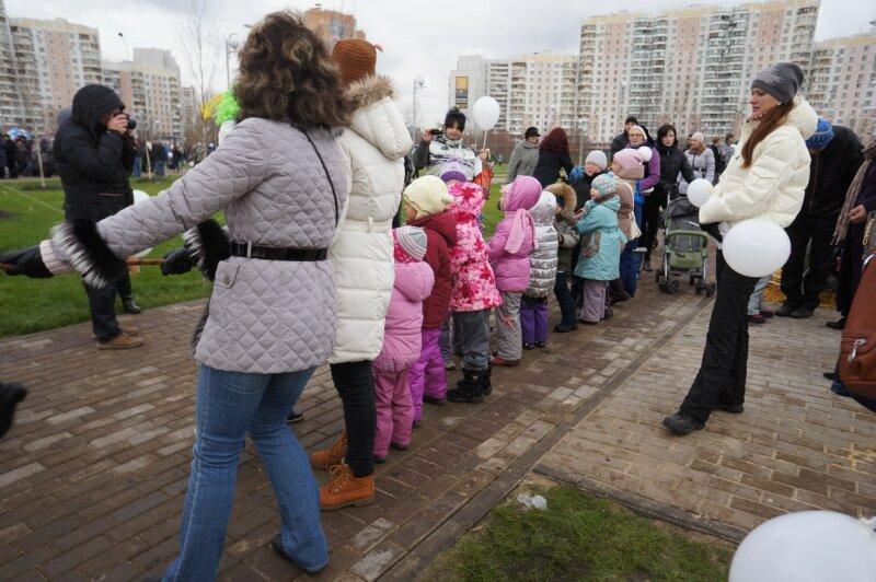 Парк Артема Боровика - открытие после реконструкции