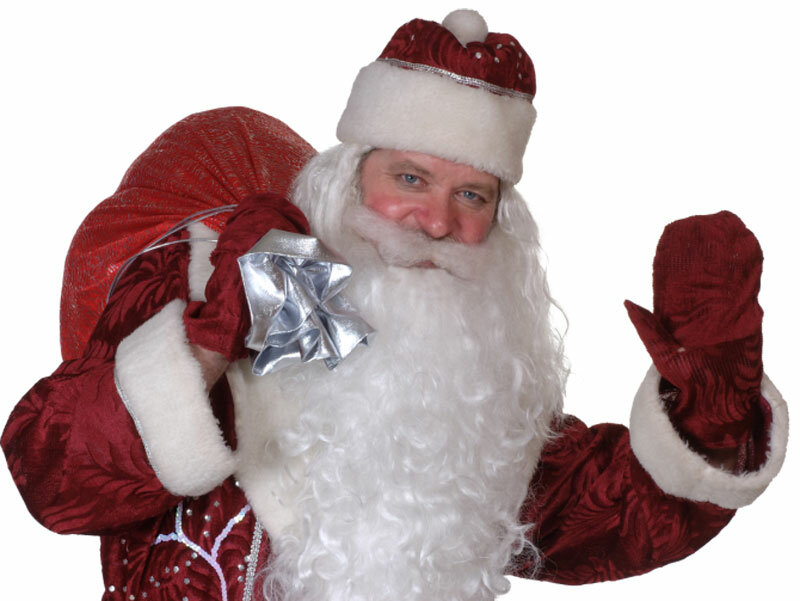Дед мороз танцует под песню