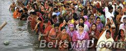 В Индии во время фестиваля погибли 18 человек