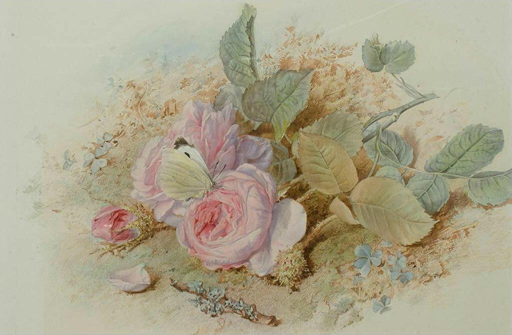 Винтажные розы картинки для декупажа картинки