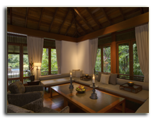 Малайзия. The Datai Langkawi. Pool Suite Living Room