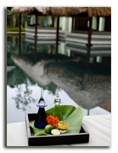 Малайзия. Лангкави. Four Seasons Resort Langkawi. Spa oils