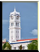 Малайзия. Куала-Лумпур. Clock tower. Malaysia, Фото Georgetown ,pz.axe - Depositphotos