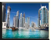 ОАЭ. Дубаи. Район Марина. Фото Anastasios71 - Depositphotos