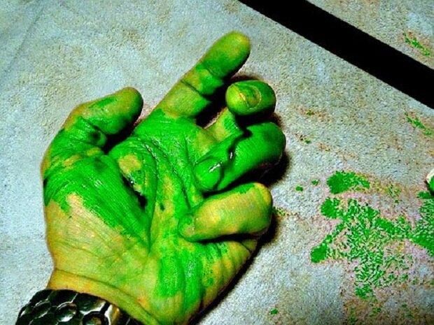 Зеленая кровь