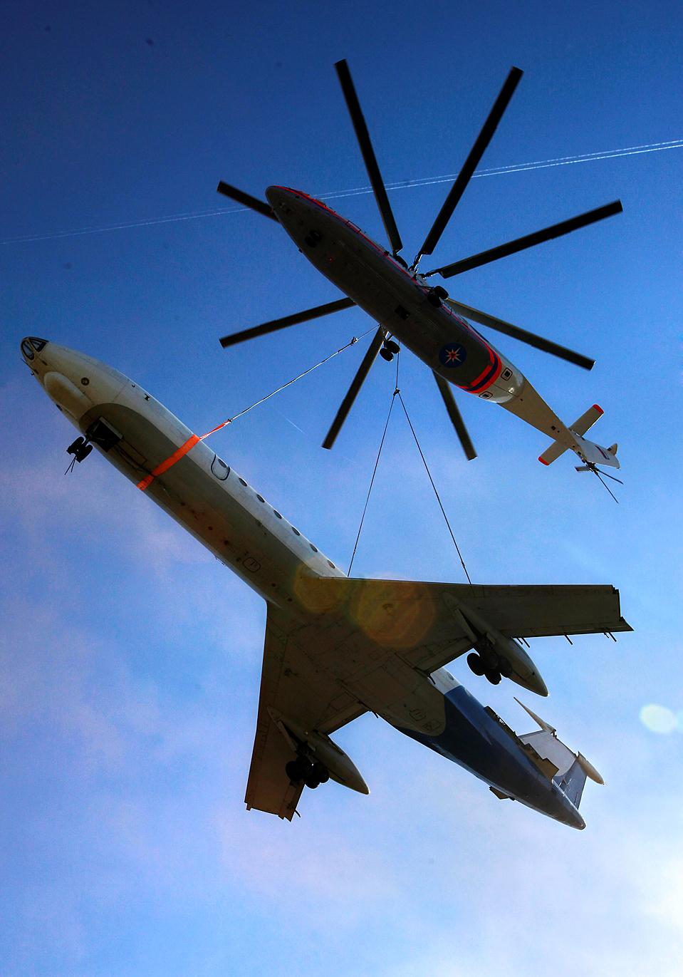Вертолет Ми-26: технические характеристики и фото :: SYL.ru