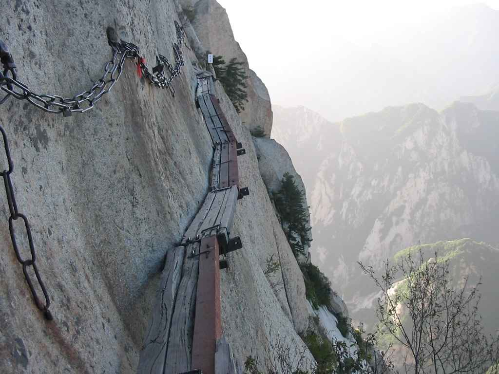 Тропа смерти (Huashan Mountain)