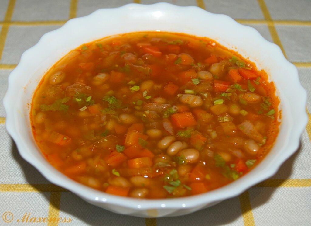 Фасолевый суп. Греческая кухня
