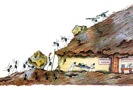 Владимир конашевич сказ про муравья