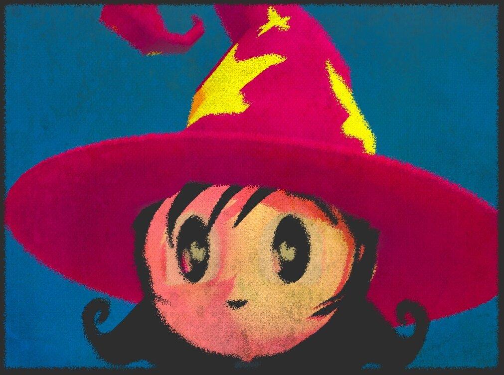 Иллюстрация живописи в Blender