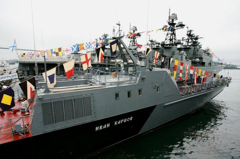 лодки тихоокеанского флота