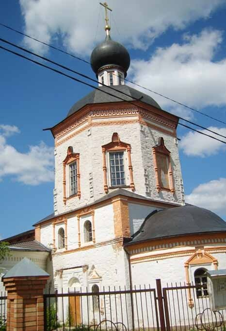 Усадьба Красное, церковь