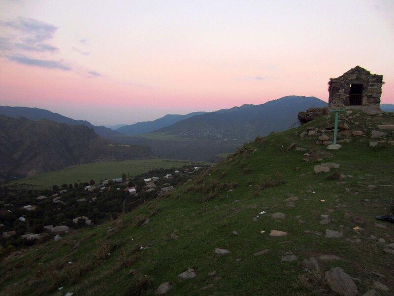 Алаверди, восход над каньоном реик Дебед
