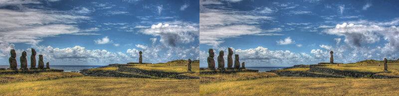 Каменные души острова Пасхи