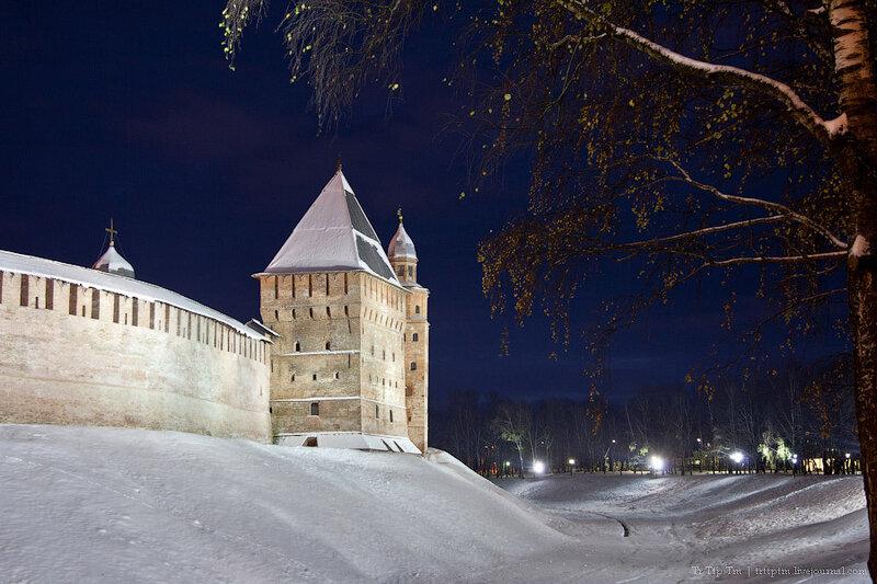 1. Белая осень под стенами Новгорода.