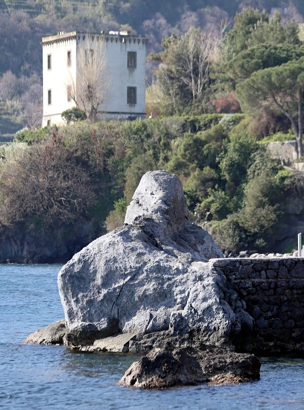 schia. Guevara tower or tower of Michelangelo