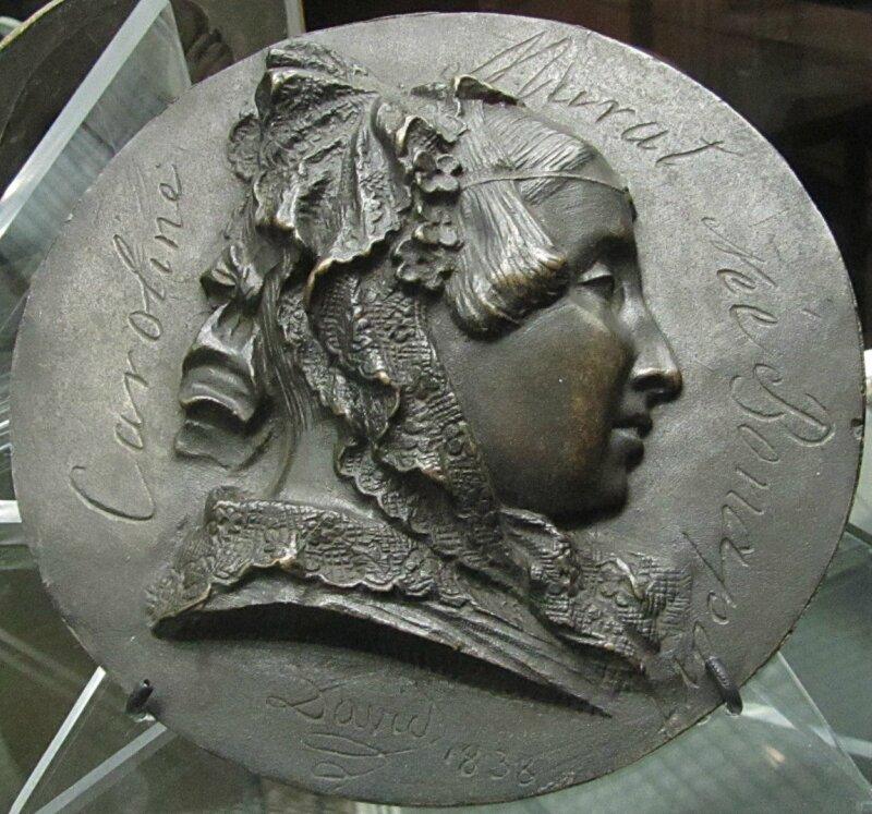 Давид д'Анже. Портрет Каролины Мюрат